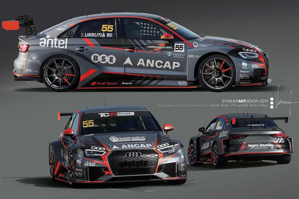 TCR Europe | Urrutia con una Audi nel Team WRT, al fianco di Potty su Volkswagen