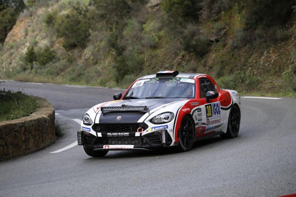 Abarth 124 Rally, una serie di aggiornamenti per la spider versione 2019