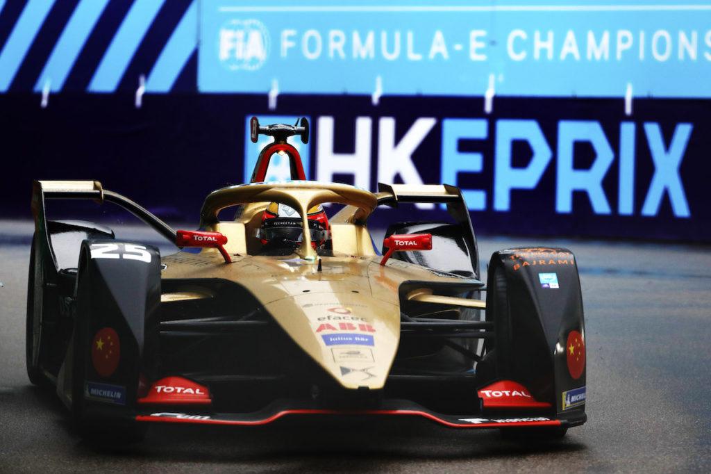 Formula E | Hong Kong bagnata e sfortunata per DS Techeetah