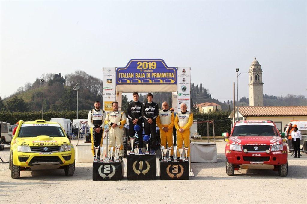 CI Cross Country | I fratelli Ventura dominano l'Italian Baja di Primavera. Sul podio Codecà