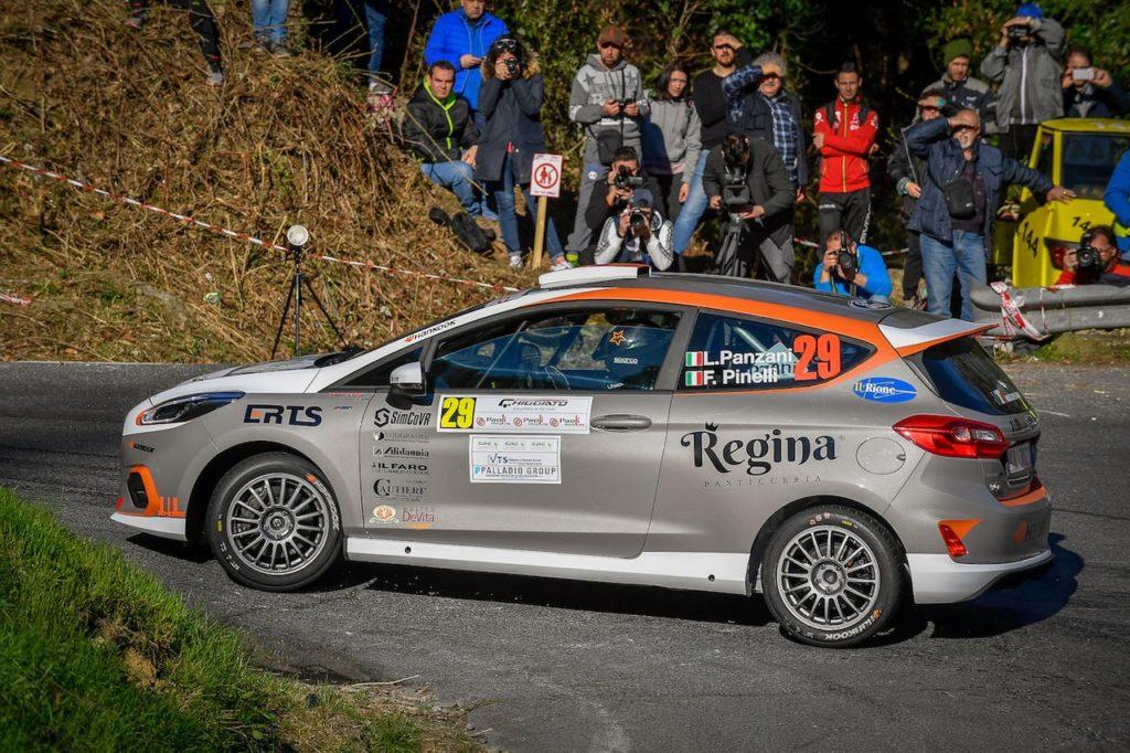CIR | Luca Panzani, prove di adattamento con la Ford Fiesta R2 al Ciocco