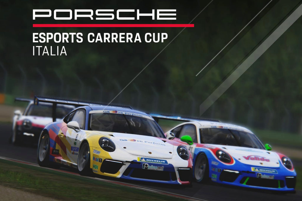 Pronta al via l'edizione 2019 della Porsche Esports Carrera Cup Italia