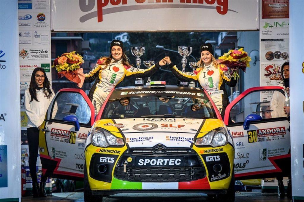 CIR | Rachele Somaschini conferma la stagione 2019 a partire dal Rally Il Ciocco