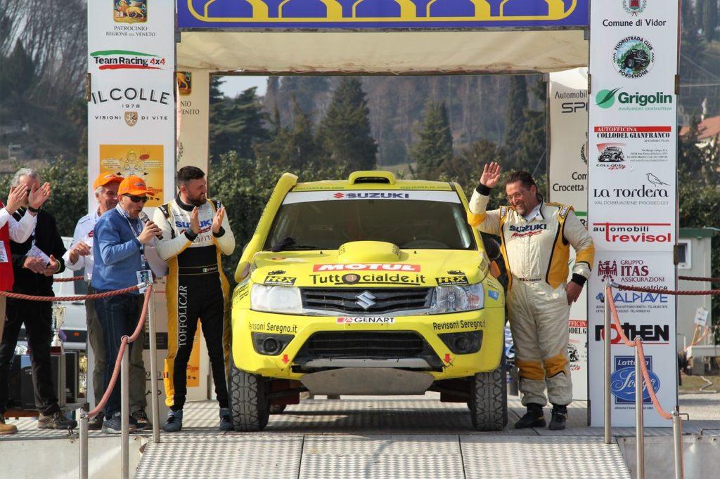 CI Cross Country | Suzuki in testa tra i costruttori dopo l'Italian Baja di Primavera