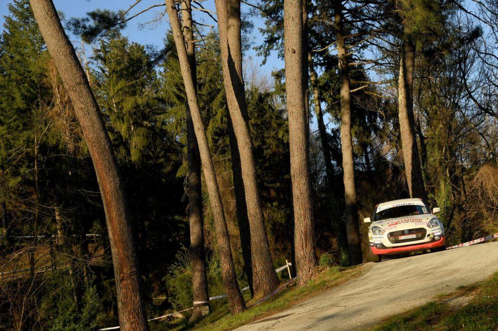 Suzuki Rally Cup | La prima tappa la vince Fabio Poggio con Valentina Briano