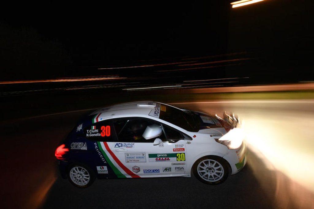 Peugeot al Rally Ciocco 2019