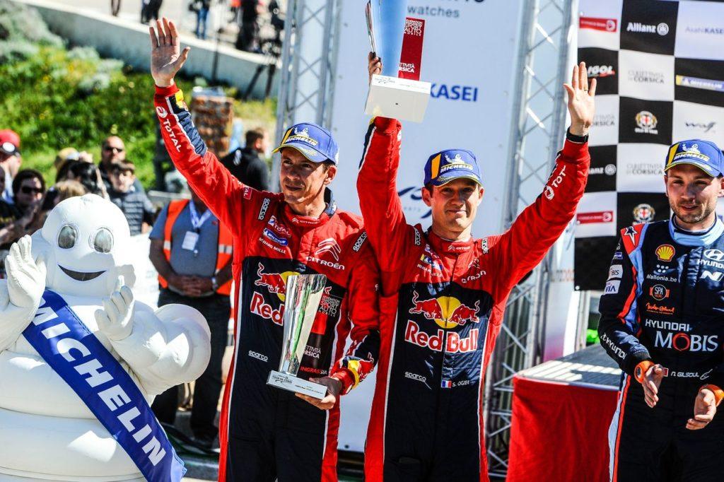 WRC | Citroen sul podio con Ogier al Tour De Corse, ma le prestazioni sono state sotto le attese