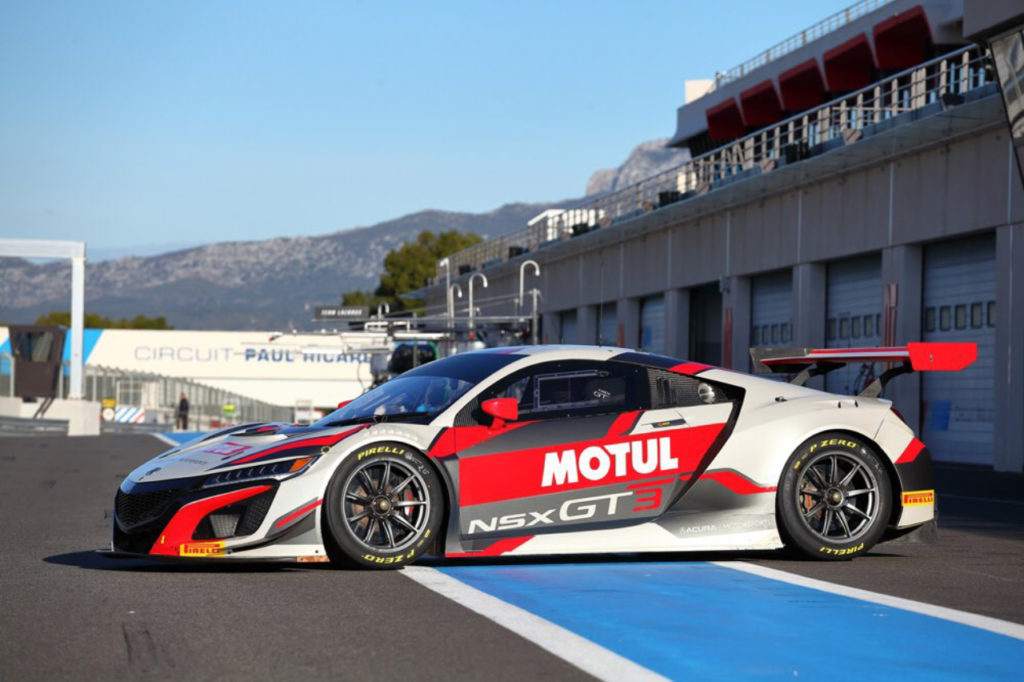 Blancpain | Test Le Castellet, Giorno 2: la Honda di JAS Motorsport conclude in vetta