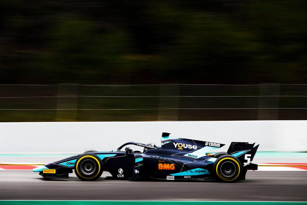 FIA F2 | Test Montmelò, Giorno 2: Sette Camara al vertice alla mattina