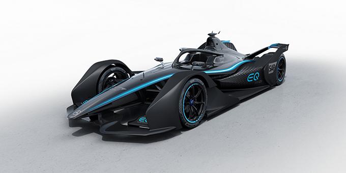 Formula E | Mercedes mostra la prima immagine della EQ Silver Arrow 01