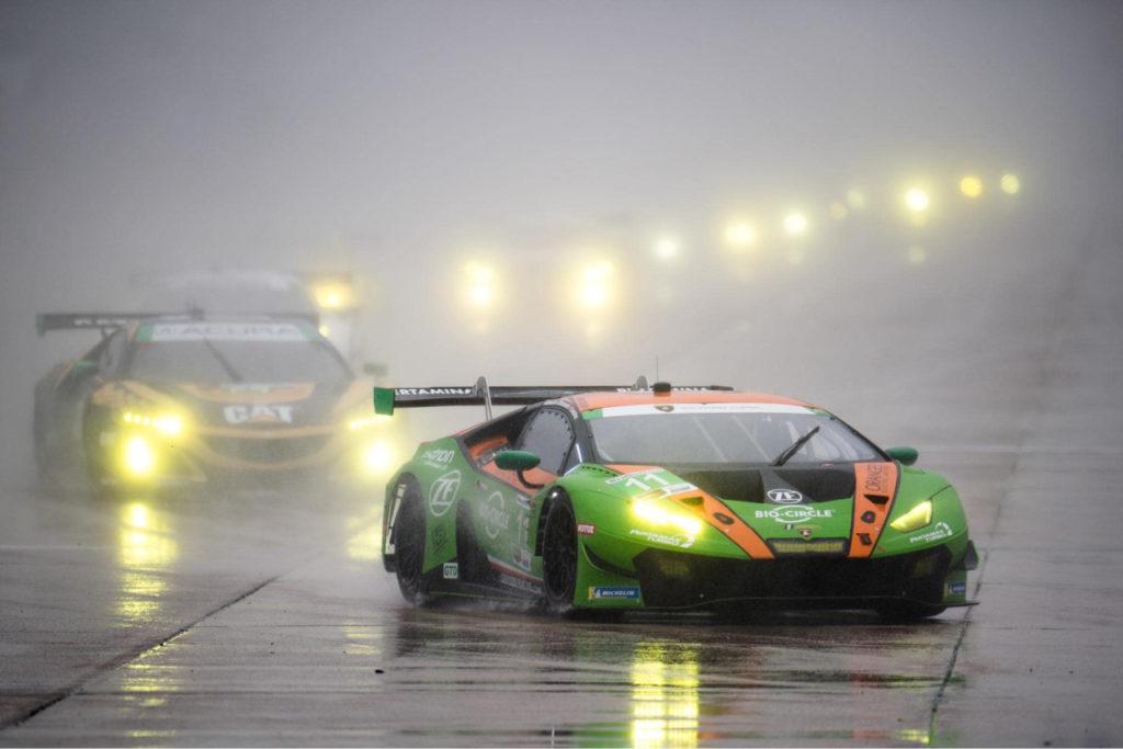 IMSA | Lamborghini conquista la 12 Ore di Sebring con il Grasser Racing Team tra le GTD