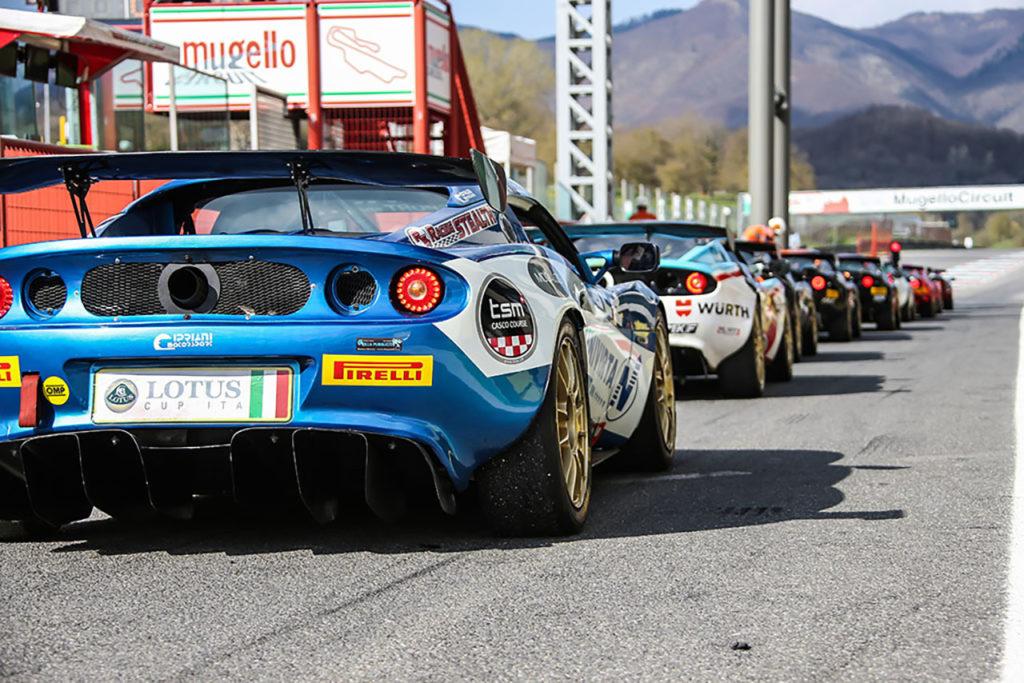 Lotus Cup Italia | Al Mugello una giornata di test per preparare la stagione 2019
