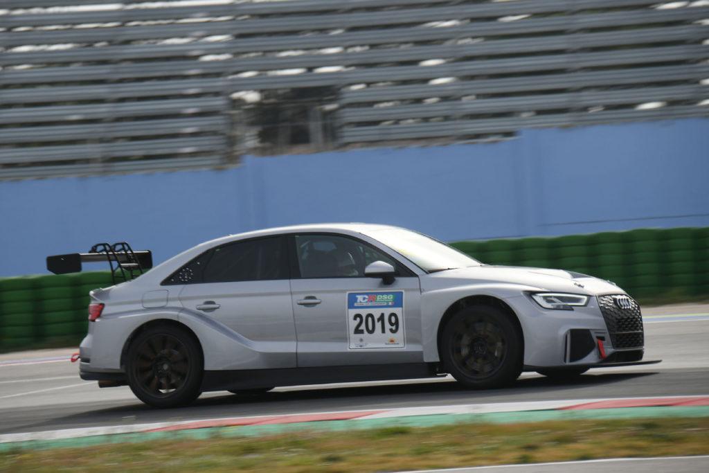 TCR DSG Endurance | Dindo Capello protagonista ai test di Misano con l'Audi RS 3 LMS