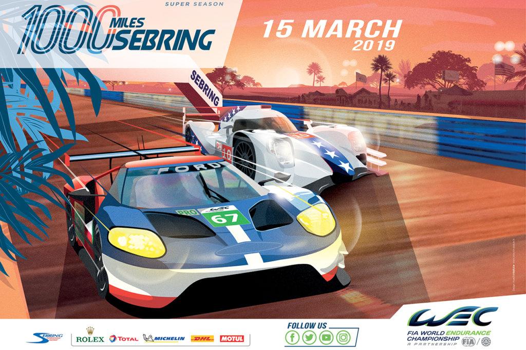 FIA WEC | 1000 Miglia di Sebring 2019: anteprima e orari del weekend