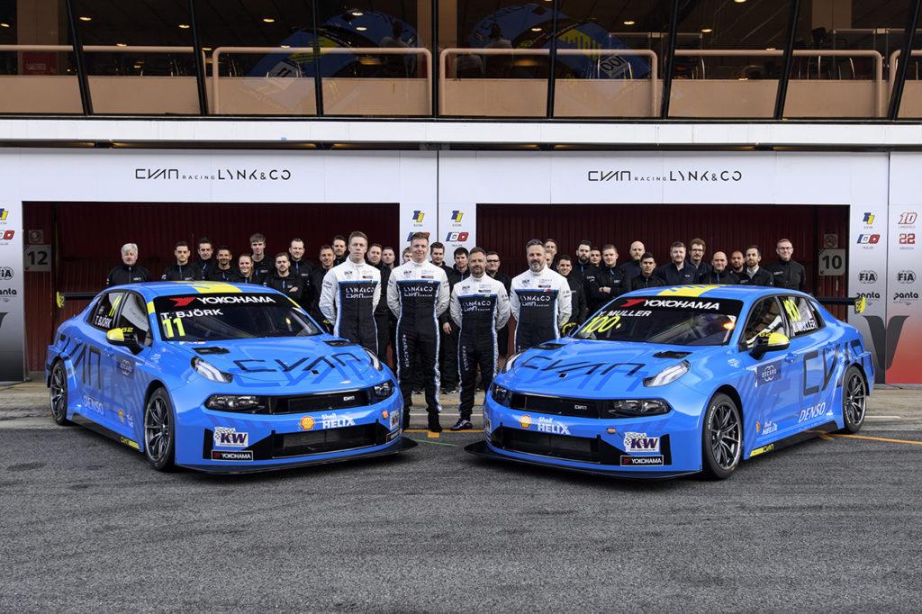 WTCR | Lynk & Co e Cyan Racing svelano i propri colori per la stagione 2019