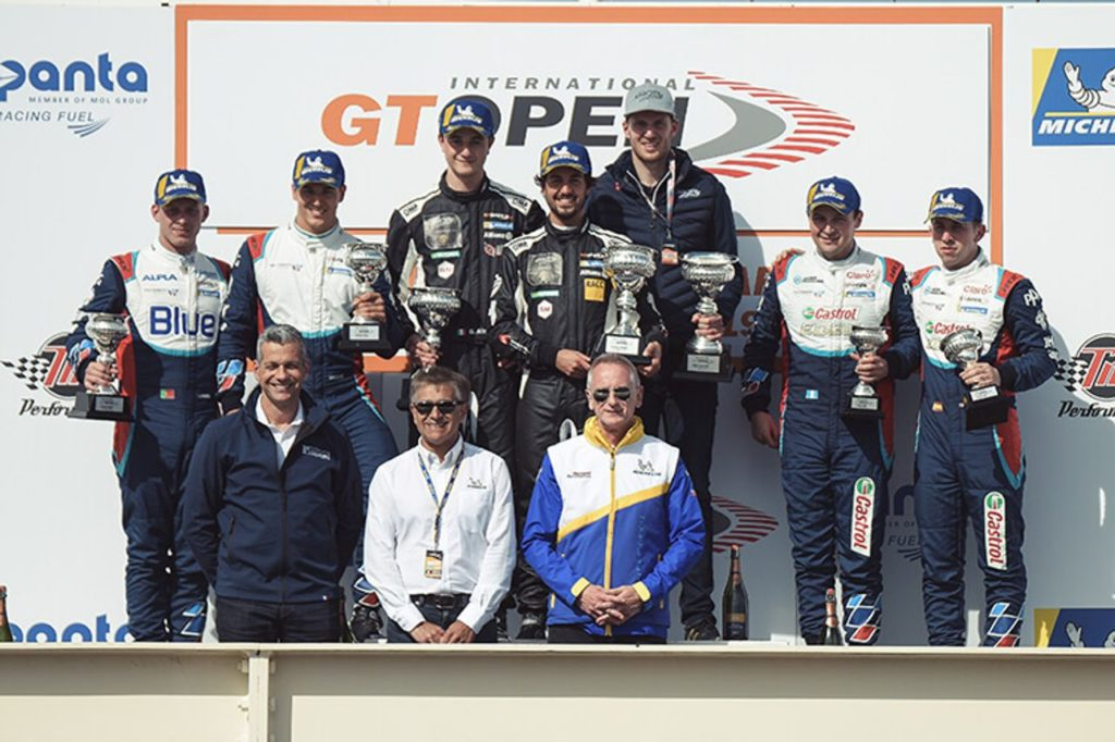 GT Open | Debutto vincente per le Lamborghini di Emil Frey Racing