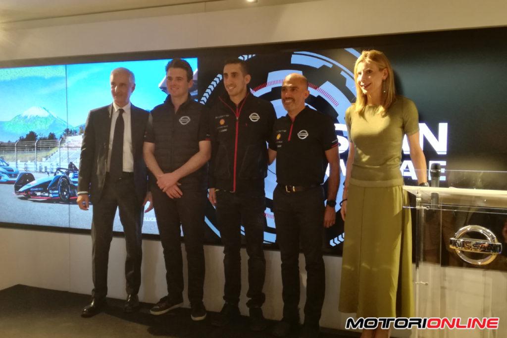 Formula E | Nissan e.dams si presenta a Roma, puntando sull'elettrico