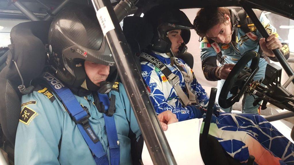 Fabio Andolfi prova la Ford Fiesta WRC Plus con Lorenzo Bertelli