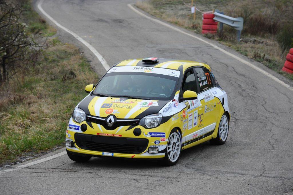 IRC | Rally Appennino Reggiano, al Trofeo Twingo R1 la prima vittoria è di Gabriele Catalini
