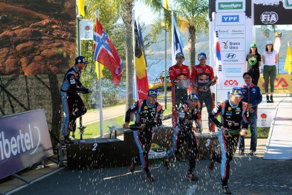 WRC | Neuville 110 e Lode, Hyundai in fuga dopo la doppietta in Argentina