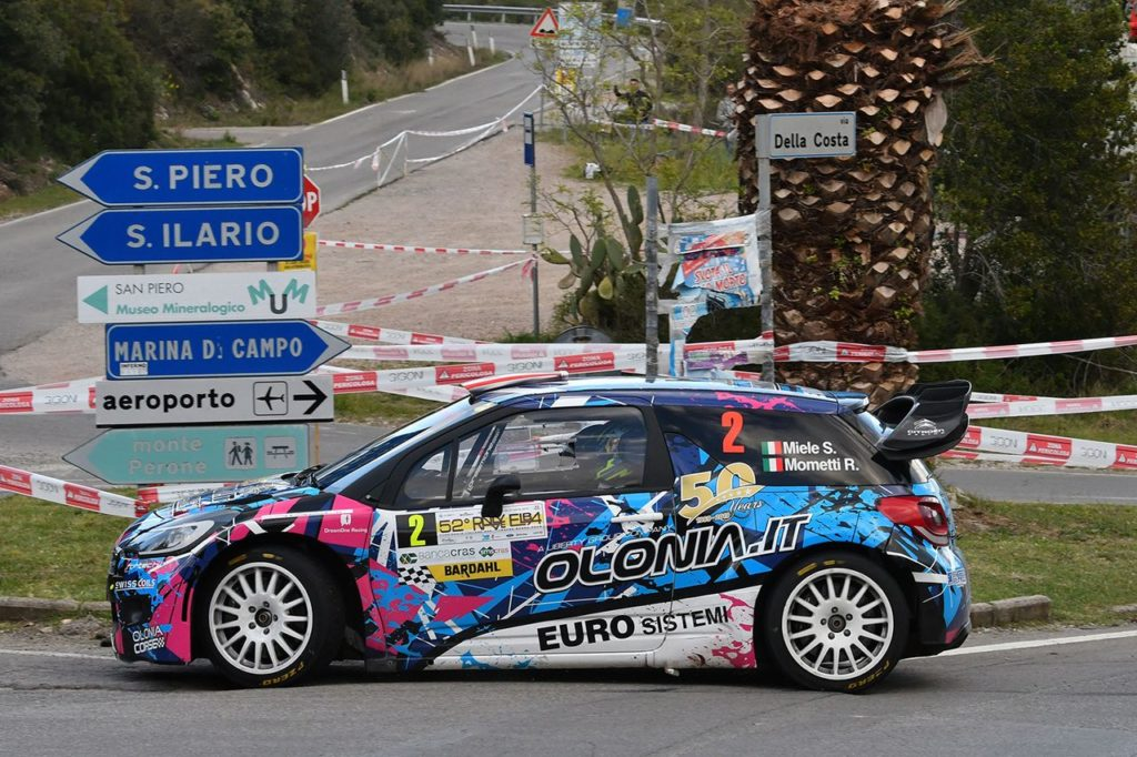 CIWRC | Rallye Elba 2019, Simone Miele vince ed assume la leadership del campionato