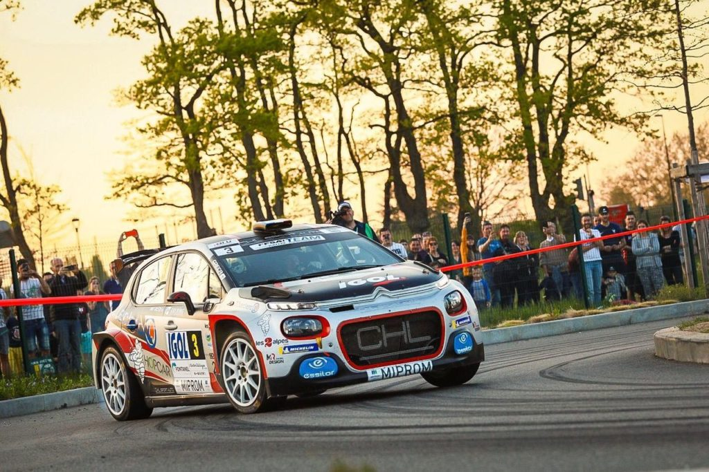 Rallye Lyon Charbonnieres, doppietta Citroen con Bonato e Rossel sulla C3 R5