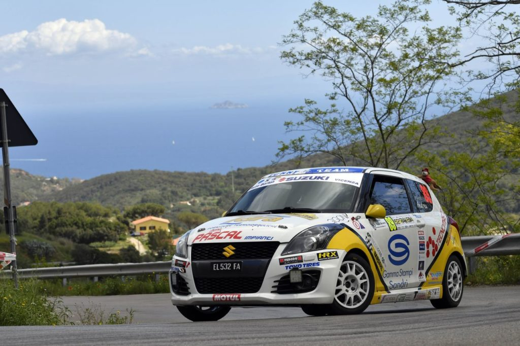 Suzuki Rally Cup | Scalzotto vince al Rallye Elba ed insidia Goldoni in classifica