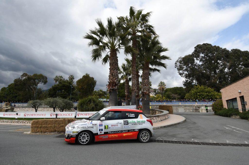 Suzuki Rally Cup | Fabio Poggio si ripete e vince anche il Rallye Sanremo