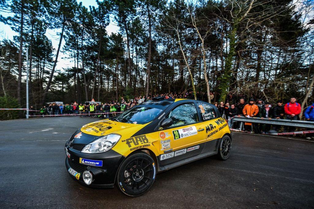 Trofei Renault Rally | A Sanremo si impone Federico Gasperetti nel Clio R3 TOP