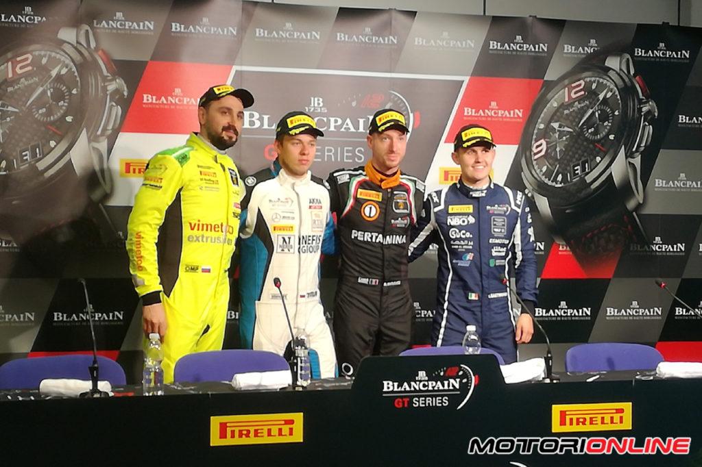 Blancpain | Monza, Qualifiche: pole position bagnata per GRT Grasser Racing Team e Bortolotti