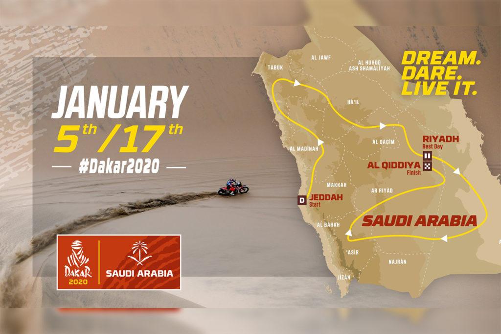 Dakar | Presentata ufficialmente l'edizione 2020 in Arabia Saudita [VIDEO]