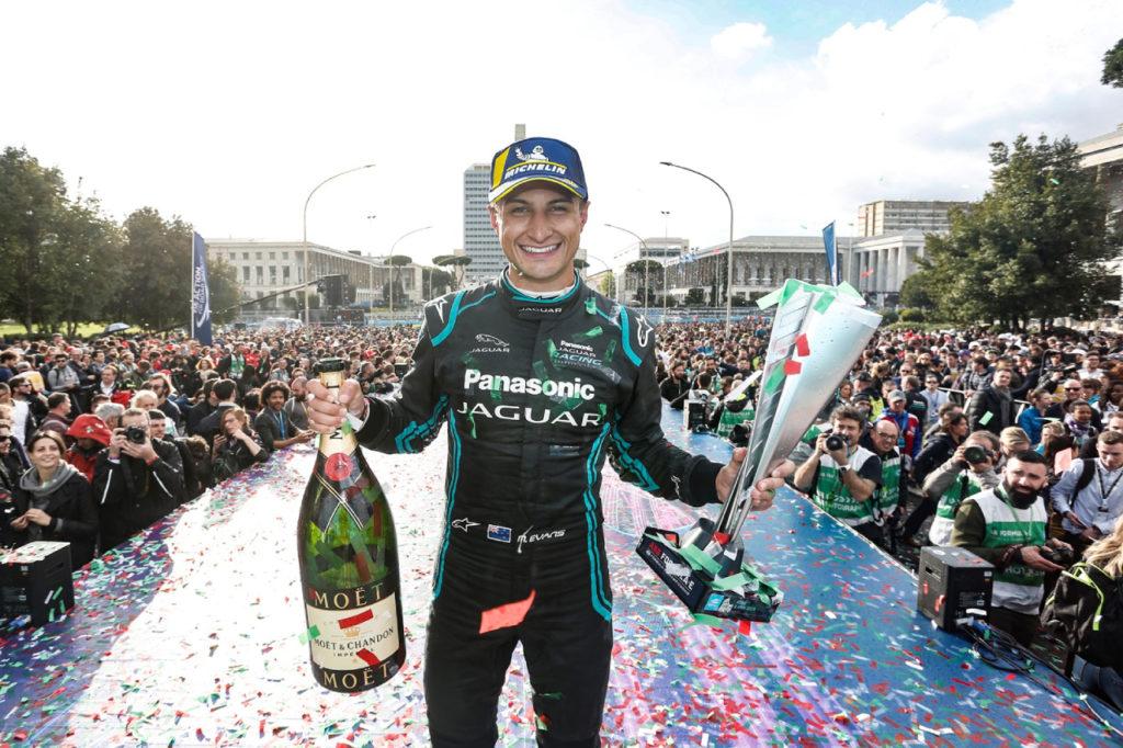 Formula E | Jaguar torna al successo nelle corse internazionali con Evans a Roma