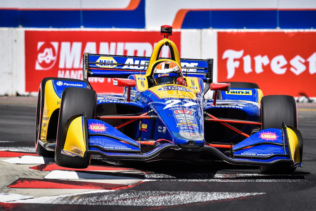 IndyCar | Long Beach, Gara: Rossi senza problemi, Newgarden 2° e rimane leader