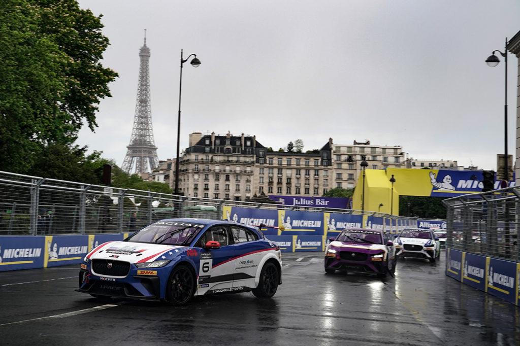 Jaguar I-Pace eTrophy | Sellers si assicura la testa del campionato con la vittoria di Parigi