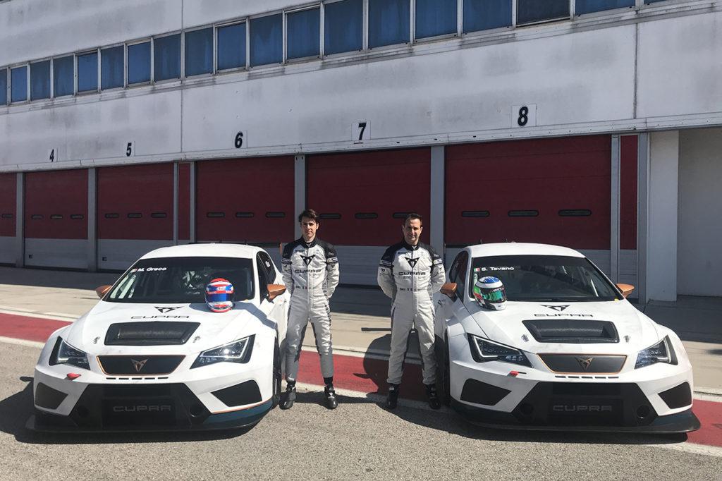 TCR Italy | CUPRA mira di nuovo al titolo con Tavano e Greco