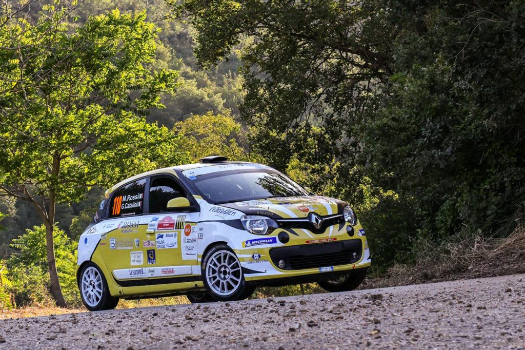 Trofei Renault Rally   Trofeo Twingo R1 pronto a scattare al Rally Appennino Reggiano