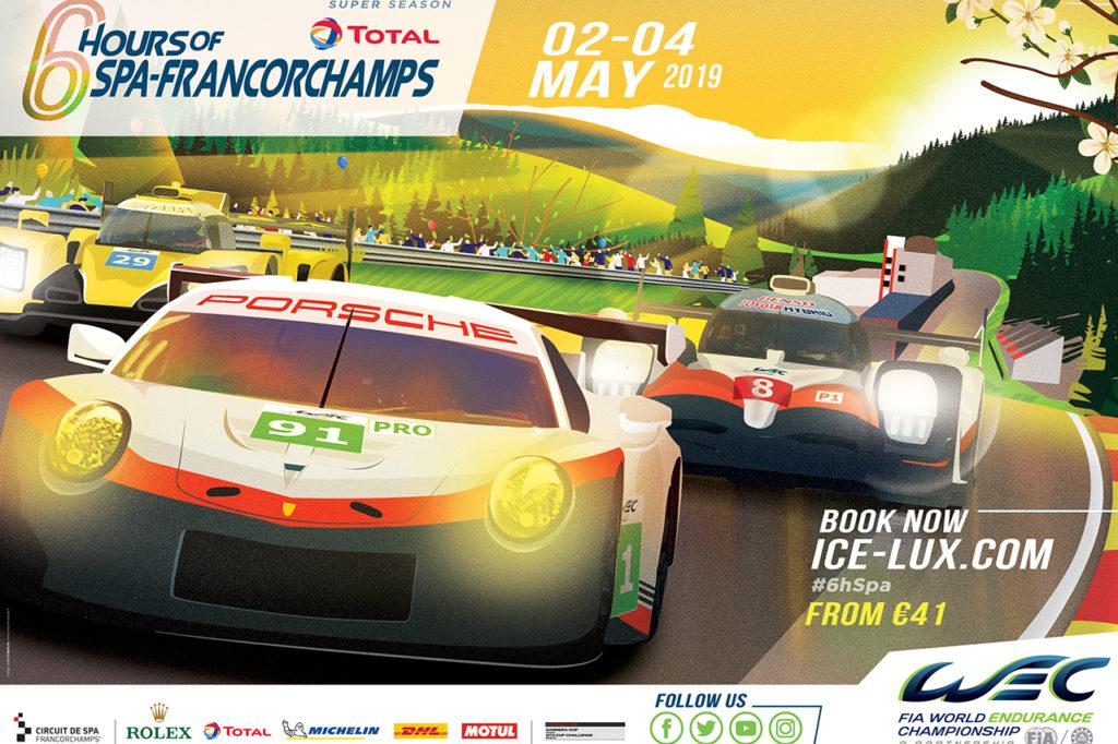 WEC | 6 Ore di Spa-Francorchamps 2019: anteprima e orari del weekend