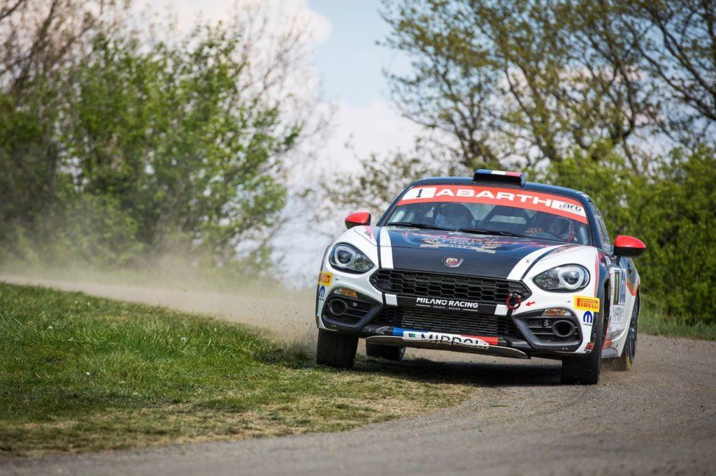 Parte dal Rally Isole Canarie l'Abarth Rally Cup 2019, abbinato all'ERC. Spagnoli subito in vetta