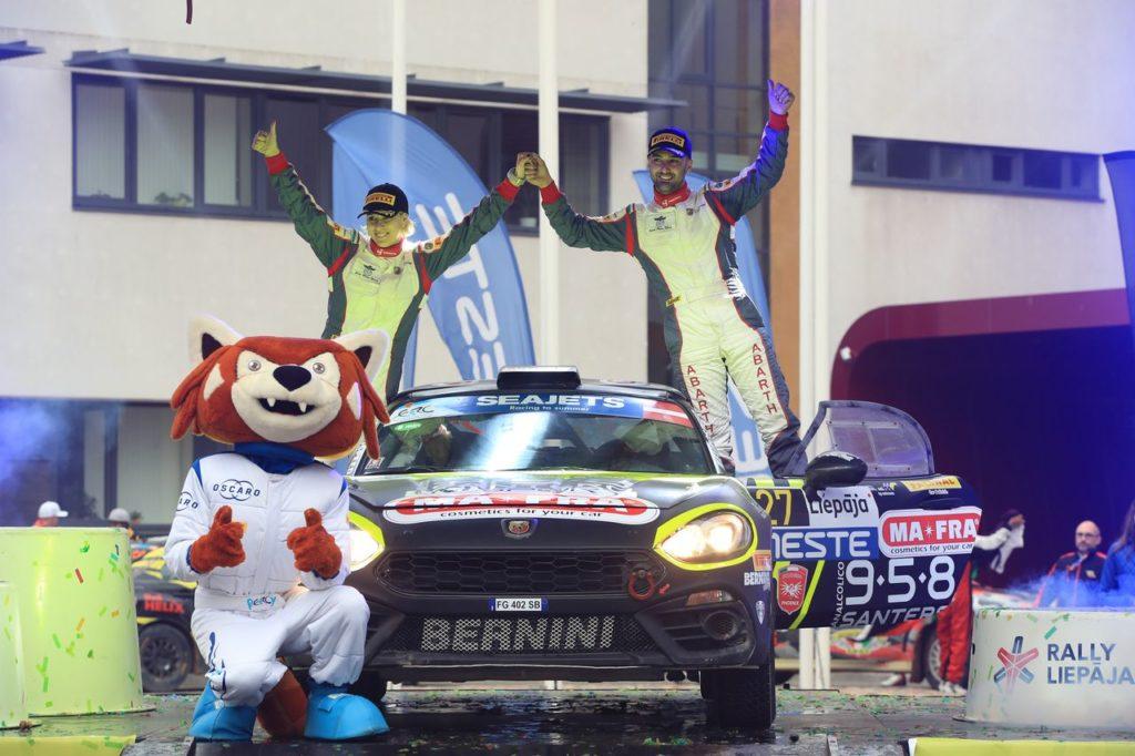 Abarth Rally Cup | Andrea Nucita conquista il Rally Liepaja sulla Abarth 124 Rally