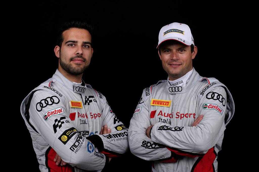 CIGT | Audi protagonista a Vallelunga con Andrea Fontana e Pierre Kaffer