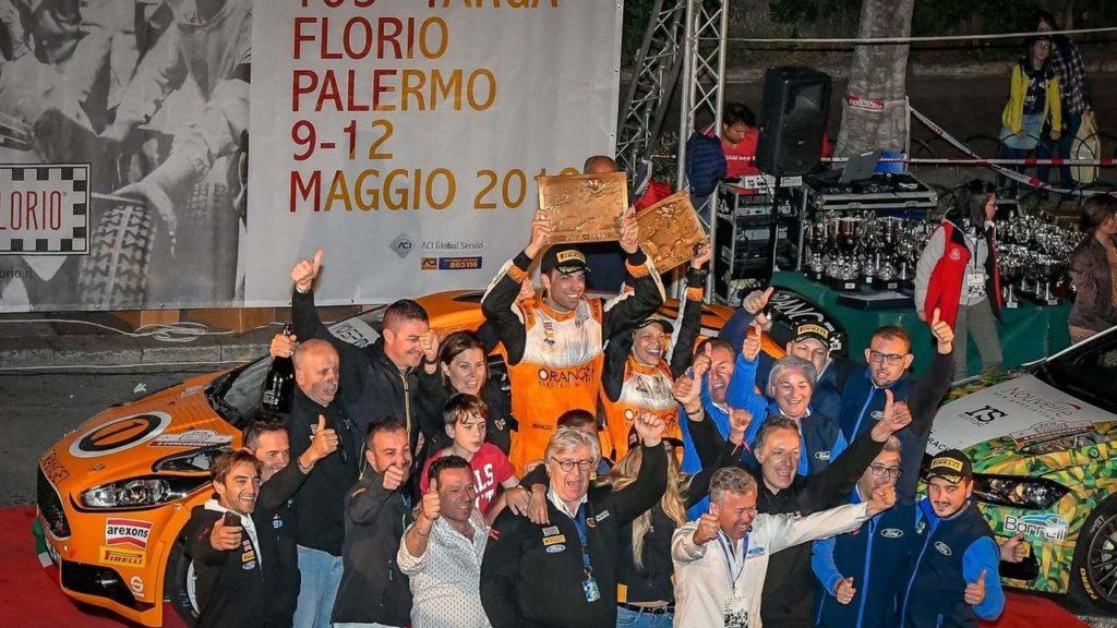 CIR | Campedelli e il tanto atteso successo: Ford Racing celebra la vittoria alla Targa Florio