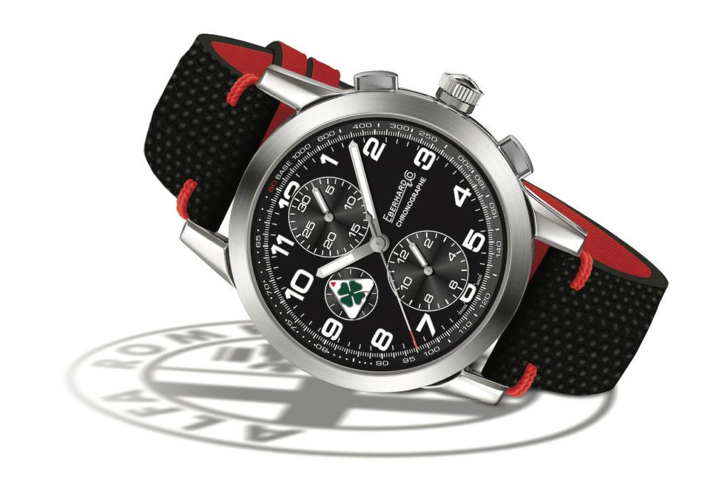 Alfa Romeo firma il nuovo cronografo di Eberhard & Co.