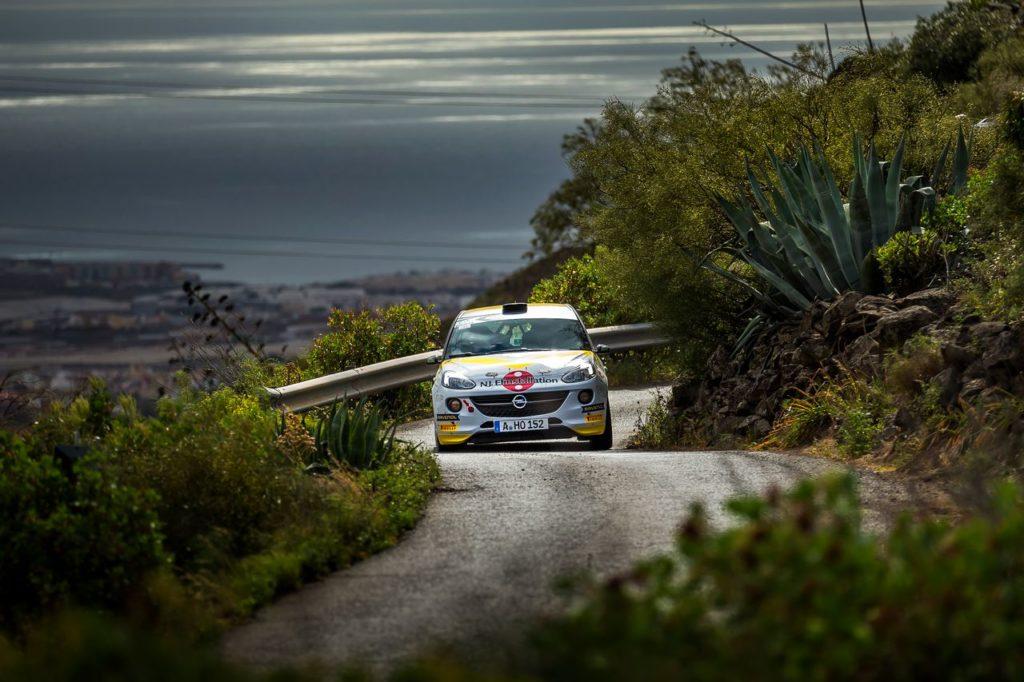 ERC | Gli equipaggi Opel non raggiungono il podio al Rally Isole Canarie, utile però per fare esperienza