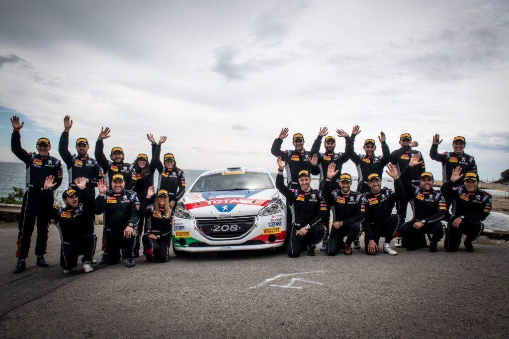I trofeisti del Peugeot Competition a lezione da Paolo Andreucci nella nuova Motorsport Academy