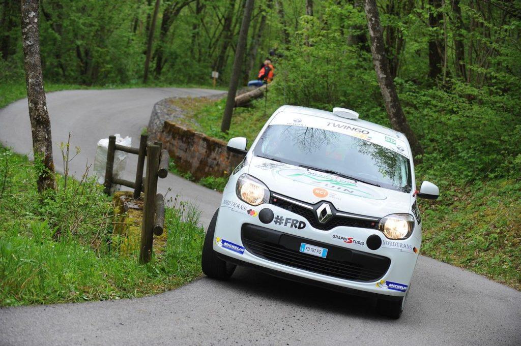 IRC | Trofeo Twingo R1,  Lanteri nuovo leader dopo il Rally Piancavallo. De Tommaso padrone della assoluta