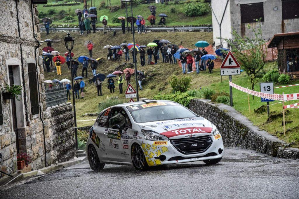 Peugeot Competition | 208 Rally Cup Pro, Rovatti vince al Piancavallo ed è leader del monomarca