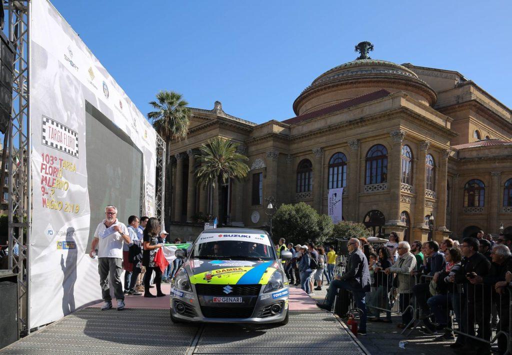 Notizie dal Campionato Italiano Rally: la Suzuki Rally Cup alla Targa Florio, i minorenni nel Tricolore Terra con le SxS