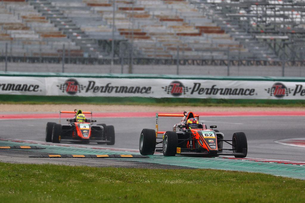 F4 Italia | Misano, Gara 2: Hauger e Kruetten beffano i piloti della Prema, cancellata Gara 3