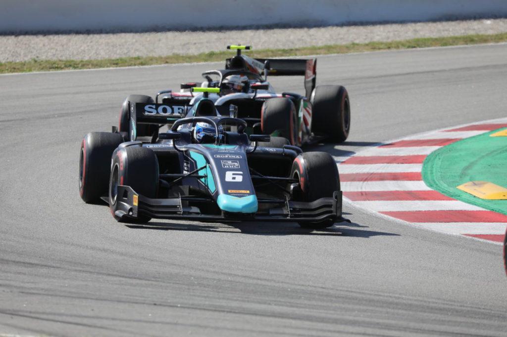 FIA F2   Montmelò, Gara 1: vittoria per Latifi, bicchiere mezzo pieno per Ghiotto