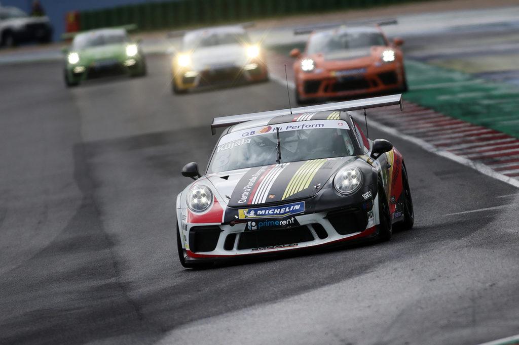 Porsche Carrera Cup Italia | Misano, Gara 1 e 2: Kujala vince sul bagnato e vola in classifica